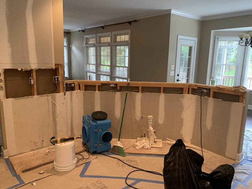 starting construction on kitchen image 1 hrgc