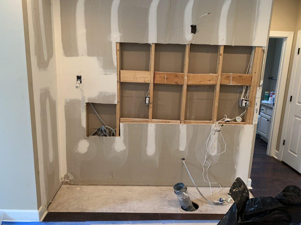 starting construction on kitchen image 2 hrgc